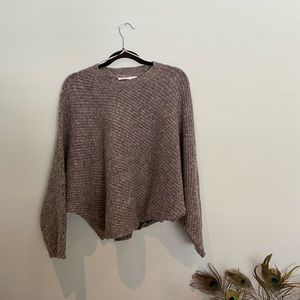 ⭐️HOST PICK⭐️ Seven Sisters Slouchy Grey Sweater S